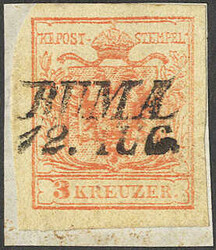 4745405: Austria Cancellations Syrmia - Cancellations and seals
