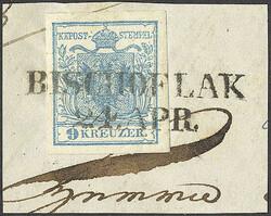 4745365: Österreich Abstempelungen Krain - Stempel