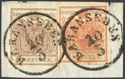 4745420: Österreich Abstempelungen Woiwodschaft Serbien - Stempel