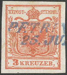 4745385: Österreich Abstempelungen Militärgrenze - Stempel