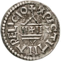 20.30.40: Medieval Coins - Carolingian Coins - Louis the Pious, 814 - 840