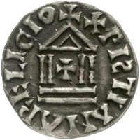 20.30.40: Medieval Coins - Carolingian Coins - Louis the Pious, 814 - 840