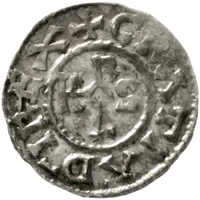 20.30.70.20: Medieval Coins - Carolingian Coins - Western Francia - Charles II the Bold, 840 - 876