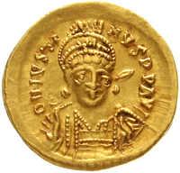 10.60.20: Ancient Coins - Byzantine Empire - Justin I, 518 - 527