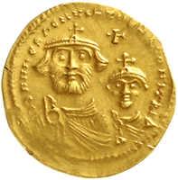 10.60.100: Ancient Coins - Byzantine Empire - Heraclius, 610 - 641