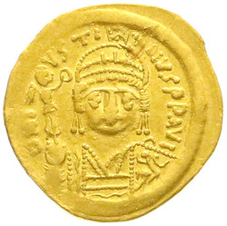 10.60.40: Ancient Coins - Byzantine Empire - Justinian I, 527 - 565