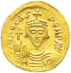 10.60.90: Ancient Coins - Byzantine Empire - Phocas, 602 - 610