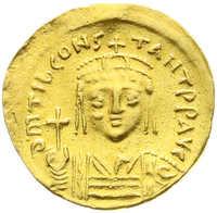 10.60.60: Ancient Coins - Byzantine Empire - Tiberius II Constantine, 578 - 582