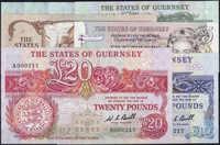 110.160: Banknotes - Guernsey