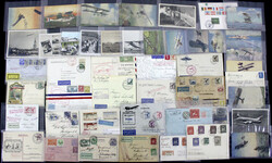 7690: Collections and Lots Zeppelin and Airmail