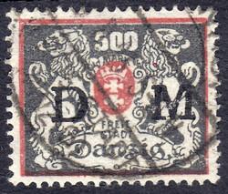 340: 但澤 - Official stamps