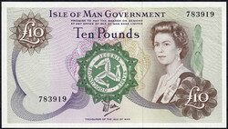 110.170: Banknoten - Insel Man