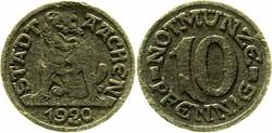 125.70: Notmünzen / Wertmarken - Städtenotmünzen