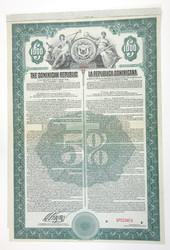 110.560.90: Banknoten - Amerika - Dominikanische Republik