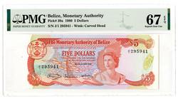 110.560.35: Banknoten - Amerika - Belize (British Honduras)