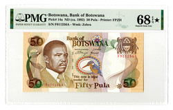 110.550.80: Banknotes – Africa - Botswana