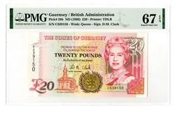 110.160: Banknoten - Guernsey