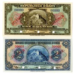 110.560.150: Banknoten - Amerika - Haiti