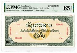 110.570.270: Banknoten - Asien - Laos