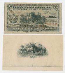 110.560.270: Banknotes – America - Uruguay