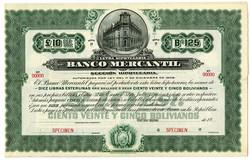 150.560.50: Wertpapiere - Amerika - Bolivien