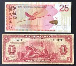 110.560.85: Banknoten - Amerika - Curacao