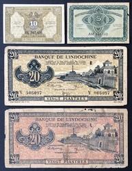 110.570.115: Banknoten - Asien - Französisch Indochina