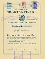 150.100: Stocks and Bonds - Finland