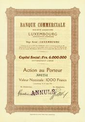 150.270: Stocks and Bonds - Luxembourg