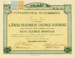 150.100: Stocks and Bonds - Finland