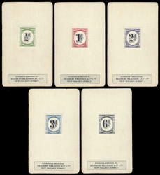 8700300: Literature of the World - Postage due stamps
