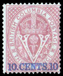 1955: Britisch Columbia und Vancouver Inseln