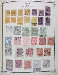 7460: Collections and Lots Indian States - Collections