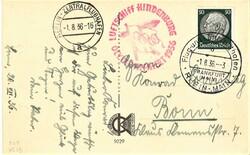 7690: Sammlungen und Posten Zeppelin und Luftpost - Flugpostmarken