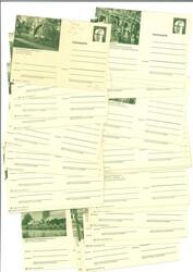7999: Sammlungen Einzelgebiete - Postkarten