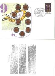 1420: Bundesrepublik Deutschland - Numisbriefe