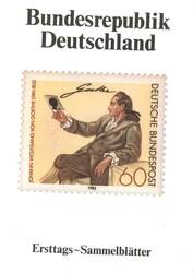 1420: Bundesrepublik Deutschland - Ersttagsblätter