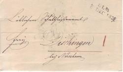 100: Altdeutschland Württemberg - Vorphilatelie
