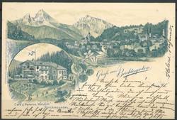 10015070: Altdeutschland Bayern frankierte Korespondenzkarten - Postkarten
