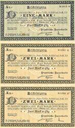 110.80.20.20: Banknoten - Deutschland - Deutsches Reich ab 1871 - Reichsbanknoten des I. Weltkriegs 1914-18