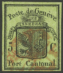 5645: Switzerland Canton Genf
