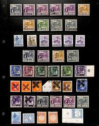 7468: Sammlungen und Posten Japan Besetzung II. WK Niederl. Gebiete - Sammlungen