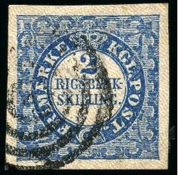 2355010: Dänemark 2 Rigsbank Skilling