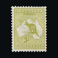 1750010: Australien - Känguruhs - erstes Wasserzeichen