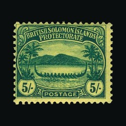 1980: Britisch Salomoninseln