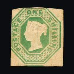 2865130: Grossbritannien 1847-54 Geprägte Ausgaben