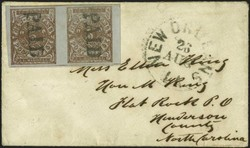 4029: Confederate States Postmasters' Provisionals