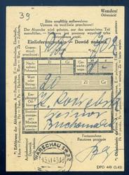 724040: Lagerpost allgemein II. Weltkrieg