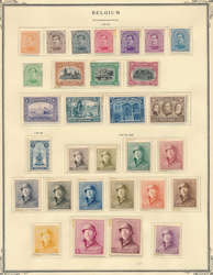 7105: Collections and Lots Belgium Colonies  - Collections