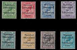 3340030: Irland - 1922 Dollard Aufdrucke (T1-T14)